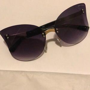 Dolce & Gabbana rimless sunglasses